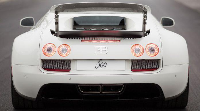 Bugatti Veyron Super Sport 300 auction