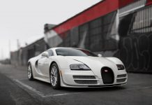Bugatti Veyron Super Sport 300 auction front