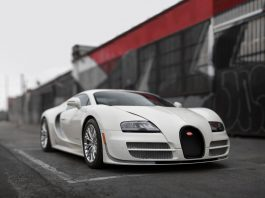 Bugatti Veyron Super Sport 300 auction front