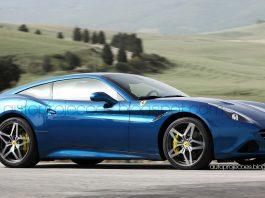 Ferrari California T rendered as a fastback