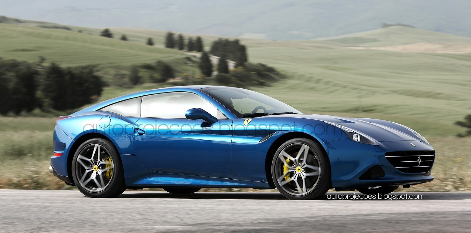 Ferrari California T Rendered As A Fastback Gtspirit