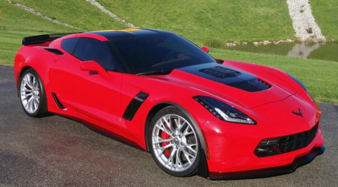 Callaway Corvette Z06 profile