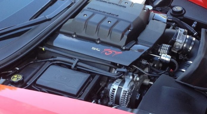 Callaway Corvette Z06 engine