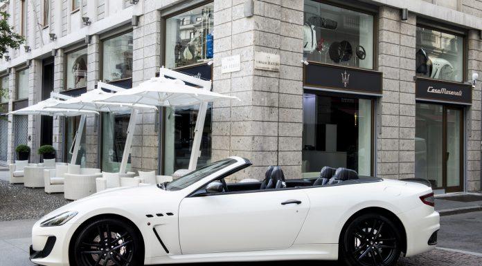 Maserati opens retail oulet in Milan