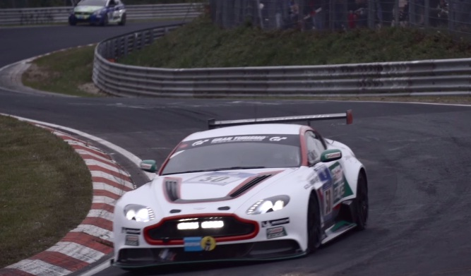 Chris Harris drives Aston Martin GT12 at Nurburgring 24 Hours