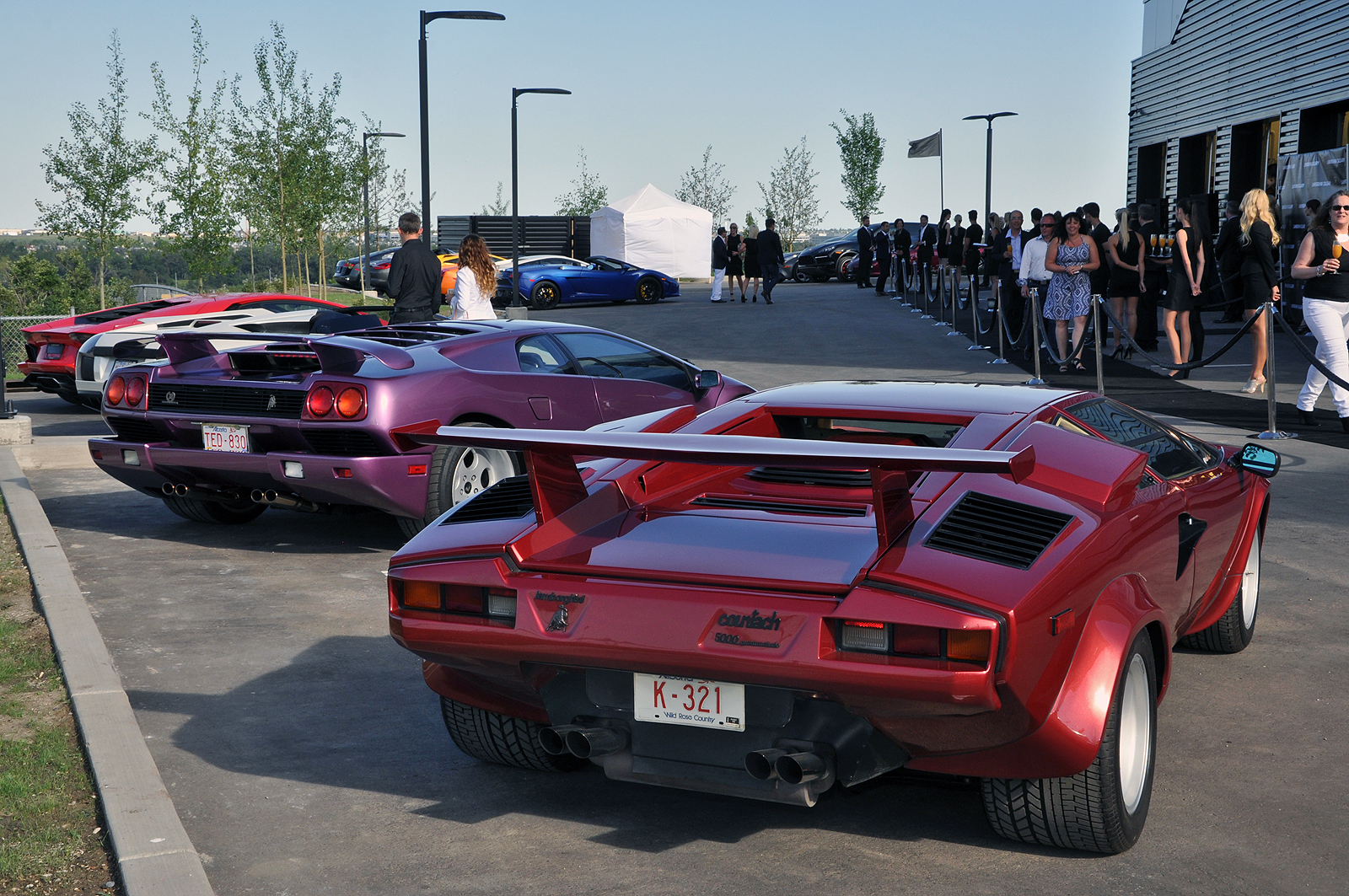 Lamborghini Calgary Grand Opening GTspirit - Lamborghini car dealership