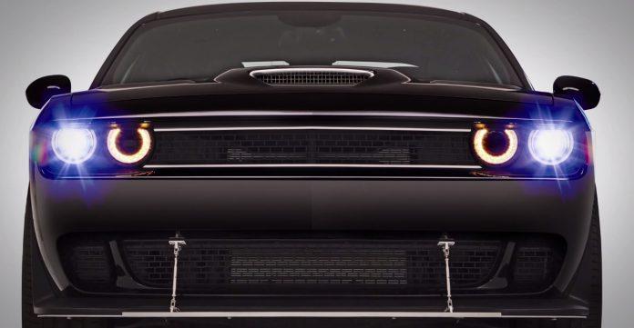 Dodge Challenger SRT Hellcat X revealed