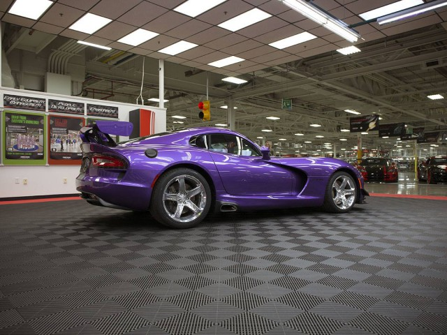 Purple Dodge Viper