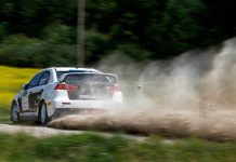 Mitsubishi Evo X Rally Estonia