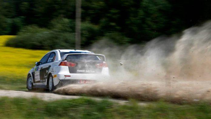 Mitsubishi Evo X Rally Estonia
