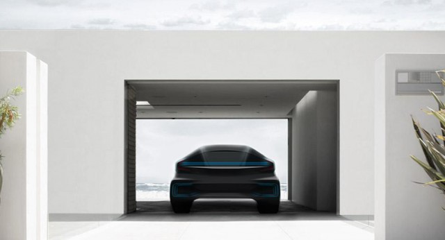 Electric automaker Faraday Future teases first model
