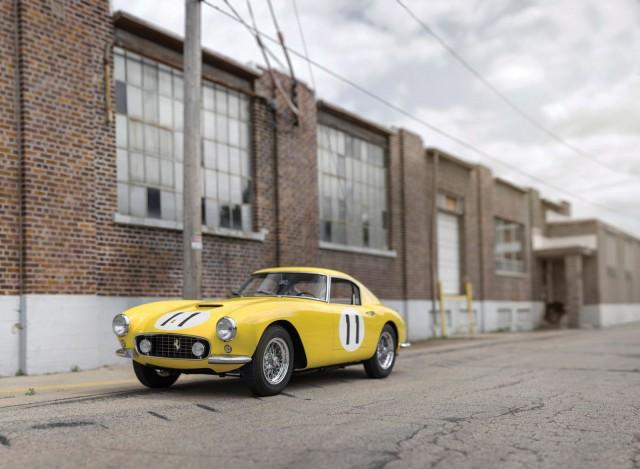 Ferrari 250 GT SWB Berlinetta Competizione Scaglietti Being Auctioned front