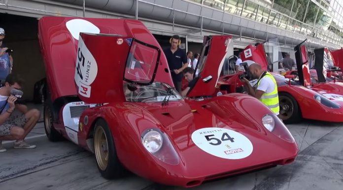 Ferrari 312P hits Monza