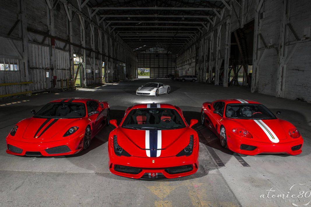 Triple Ferrari