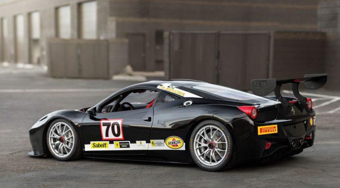 Ferrari 458 Challenge Evoluzione rear