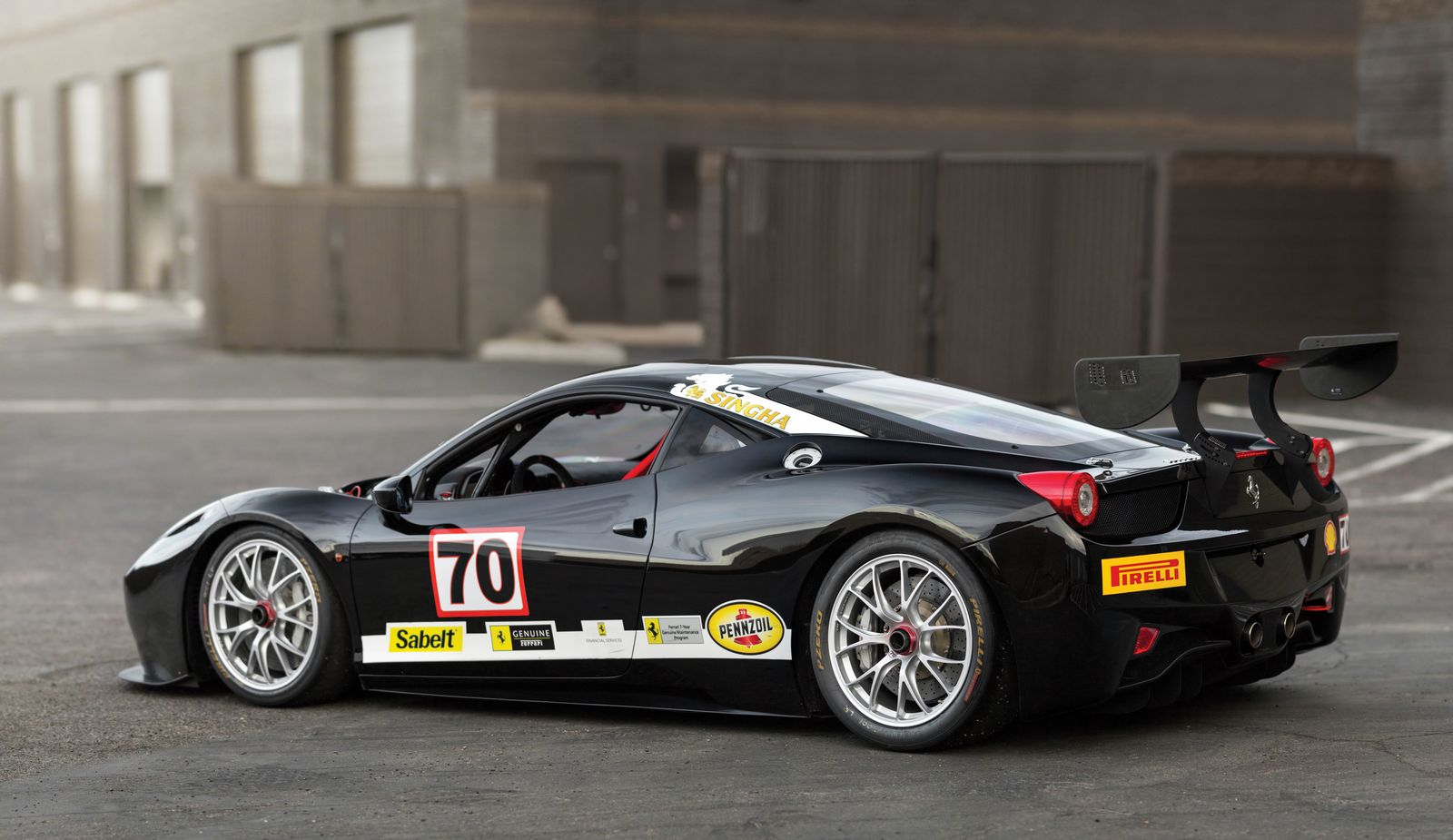 ferrari 458 challenge evoluzione being sold without reserve gtspirit. Black Bedroom Furniture Sets. Home Design Ideas