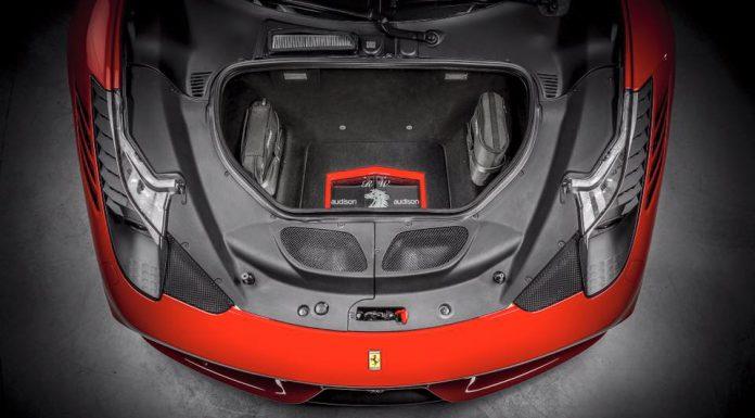 Ferrari 458 Speciale with Custom Hi-Fi System