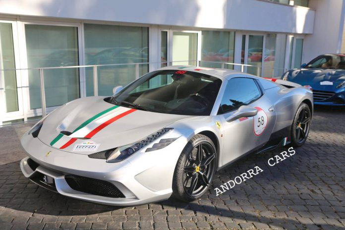 Uniquely Spec'd Ferrari 458 Speciale A Snapped in Andorra