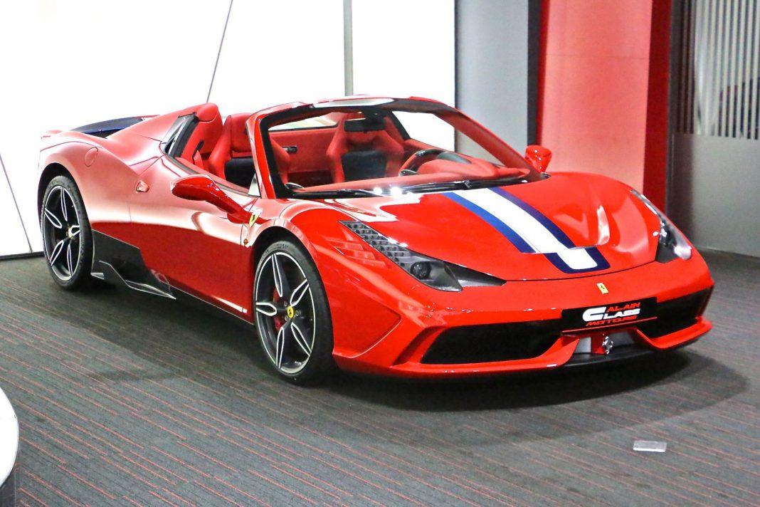 Ferrari 458 Speciale A for sale in Dubai