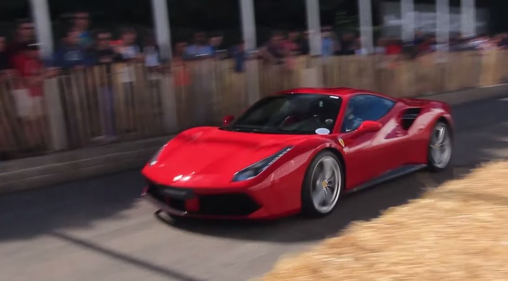 Ferrari 488 GTB at Goodwood