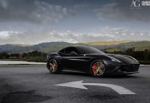 Black Ferrari California T