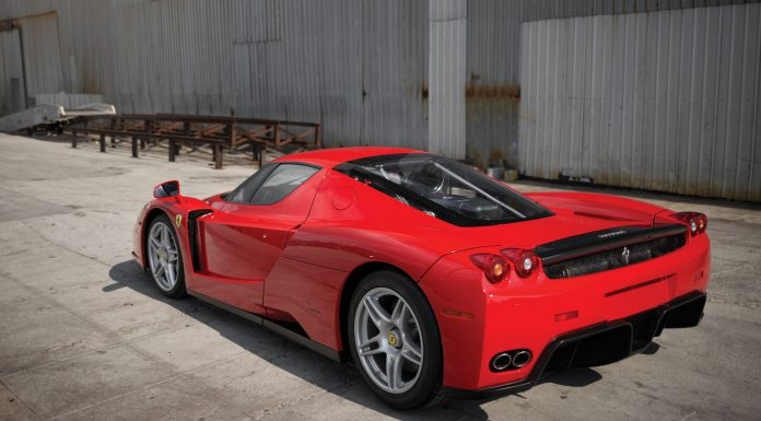 Final Ferrari Enzo Could Fetch $6 Million at August Auction rear
