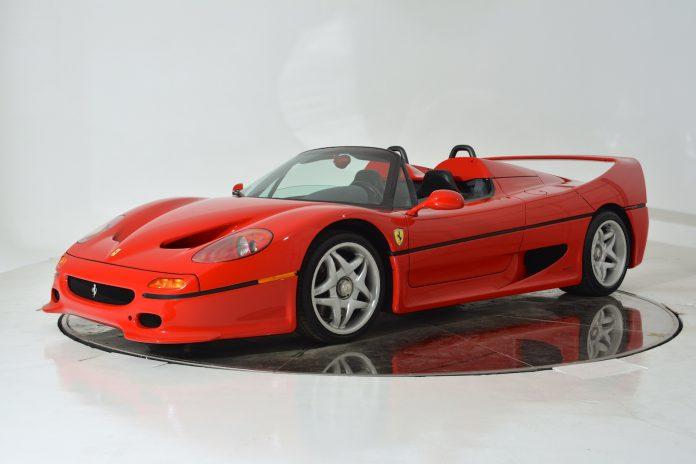 Ferrari F50 for sale front