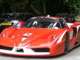 Ferrari FXX, FXXK and 599XX at Goodwood