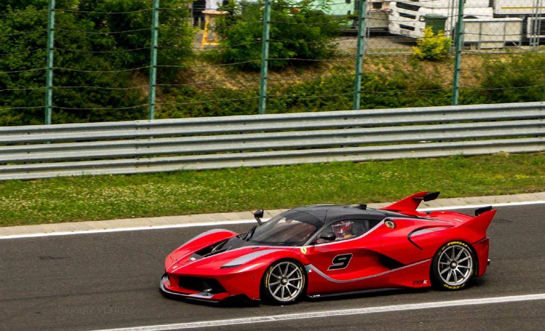 Ferrari racing Days Hungaroring Ferrari FXX K