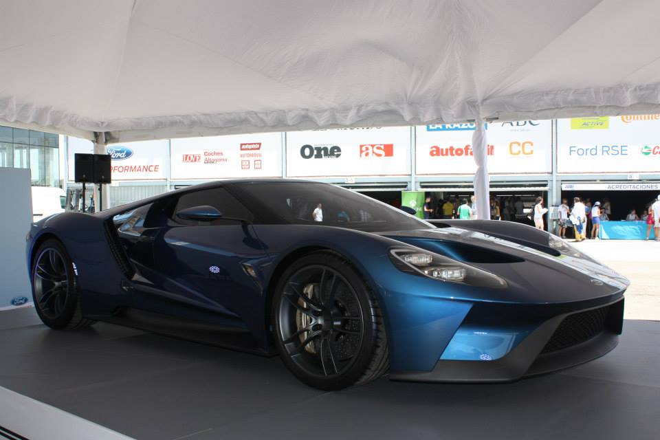 2017 Ford GT Headlines 24 Hours of Ford in Spain