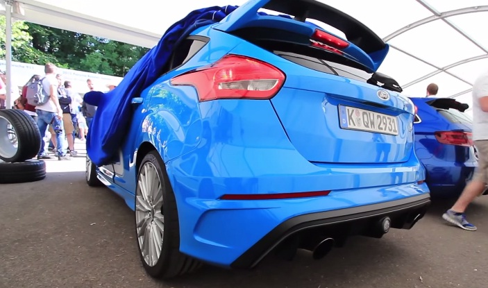 Ford Focus RS at Goodwood Festival of Speed