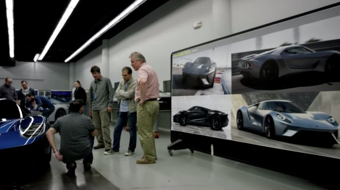 Inside the 2016 Ford GT's Secret Design Studio