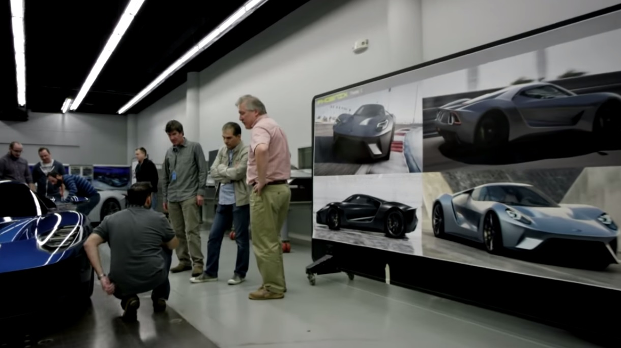 Inside The  Ford Gts Secret Design Studio