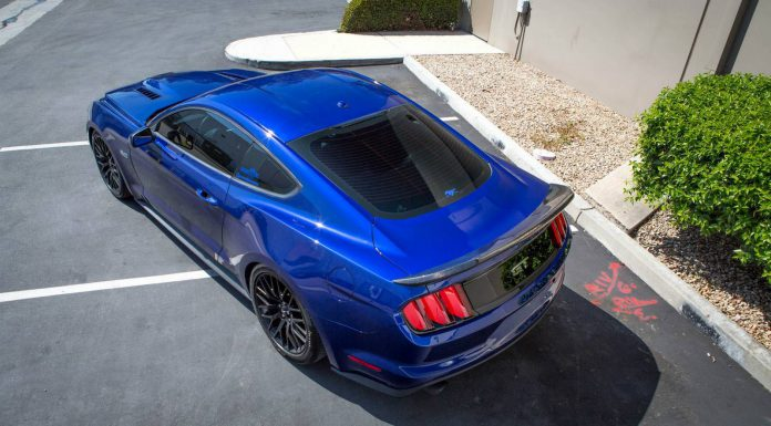2015 Ford Mustang by Trufiber rear spoiler