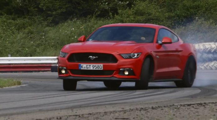 Chris Harris drives Ford Mustang GT