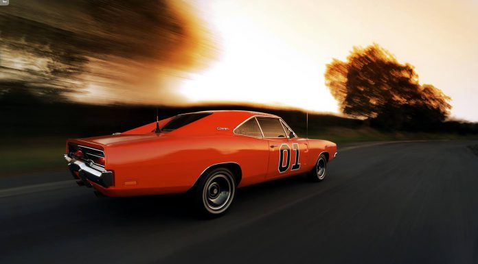 General Lee Dodge Charger R/T  rear