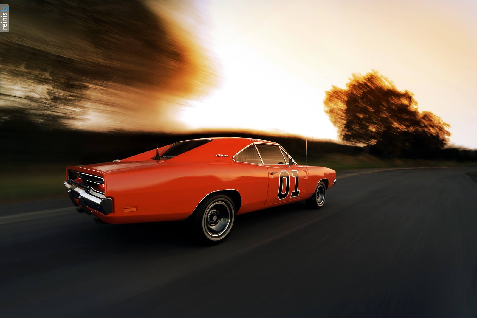 Stunning general lee dodge charger r t photoshoot gtspirit for Is dodge general motors