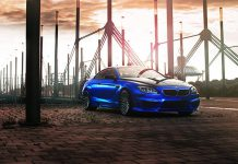 Blue Chrome Matt Hamann BMW M6 Mirr6r by Fostla.de