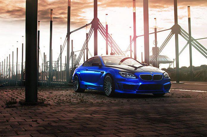 Blue Chrome Matt Hamann BMW M6 Mirr6r by Fostla.de