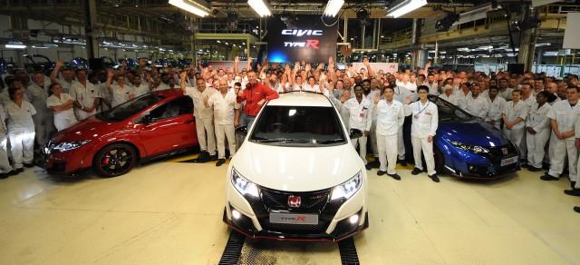 Honda Civic Type R production begins