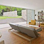 Philip Johnson's Wiley House interior