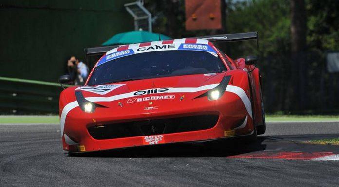 Ferrari 458 Italia at Italian GT