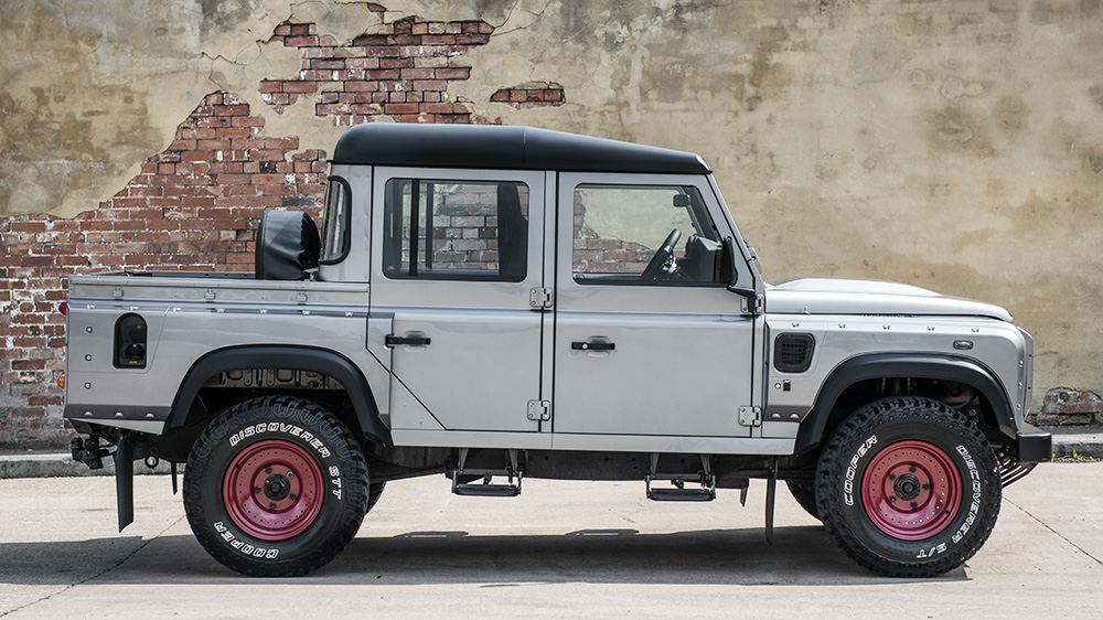 Kahn Design Creates Another Land Rover Defender Pickup