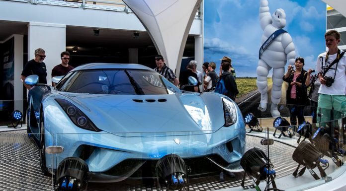 Koenigsegg Regera at Goodwood Festival of Speed
