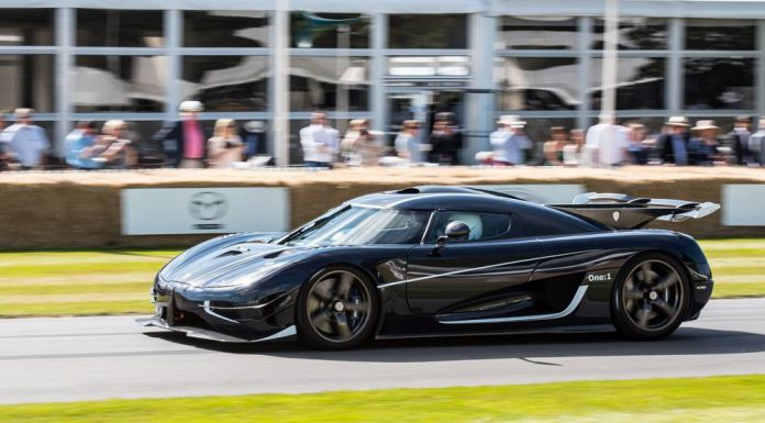 Koenigsegg One:1 at Goodwood Festival of Speed
