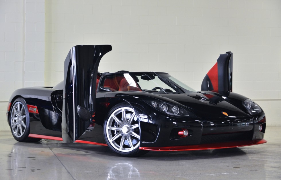 Koenigsegg CCXR for sale in the United States front
