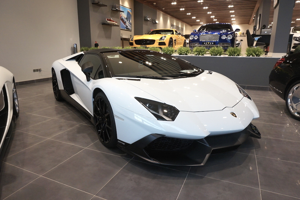 Lamborghini Aventador LP720-4 50th Anniversario Roadster for sale front