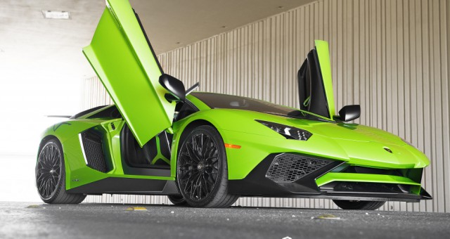 First Lamborghini Aventador SV in the US Delivered