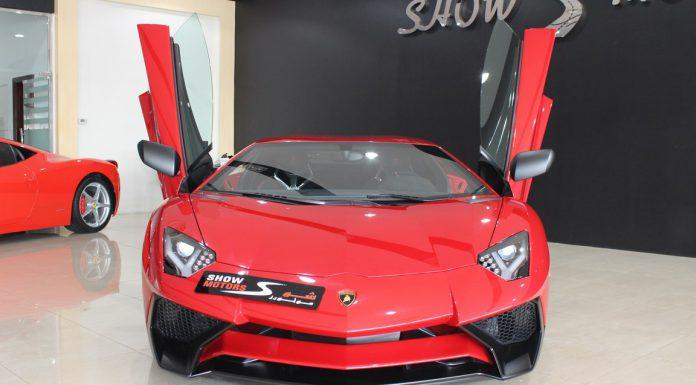 First Lamborghini Aventador SV for Sale in Dubai