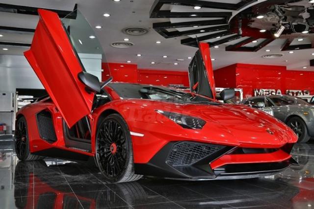 Lamborghini Aventador SV For Sale in Dubai front
